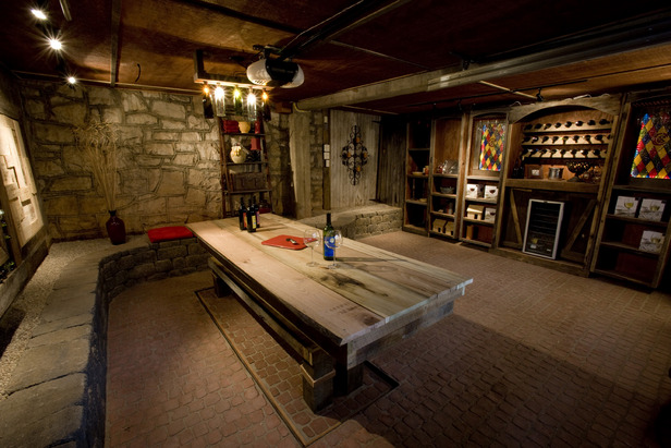 The Ultimate Man Cave Ample Storage