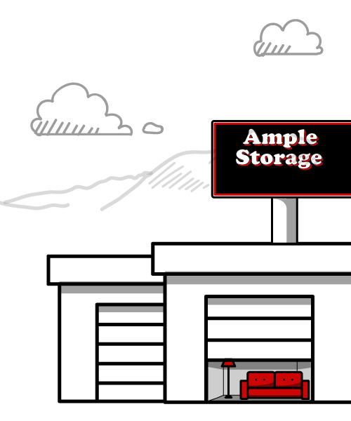 Storage unit sizes ample self storage reno nv for Ample storage